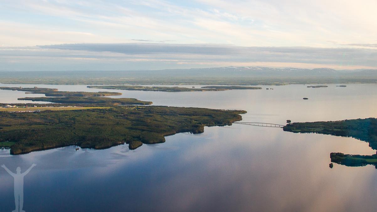 Rödöbron, Storsjön och Oviksfjällen