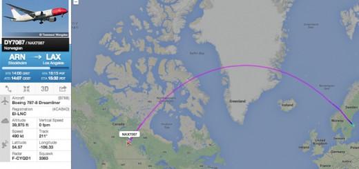Norwegian Dreamliner 787