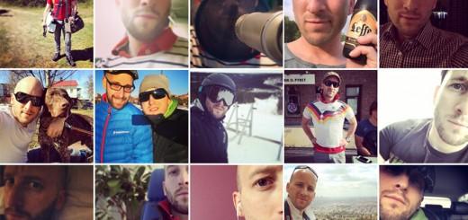 Selfies från Instagram