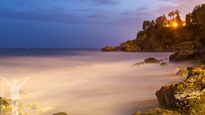 Nerja - Burriana by night
