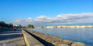 Morgonlöpning i Genève