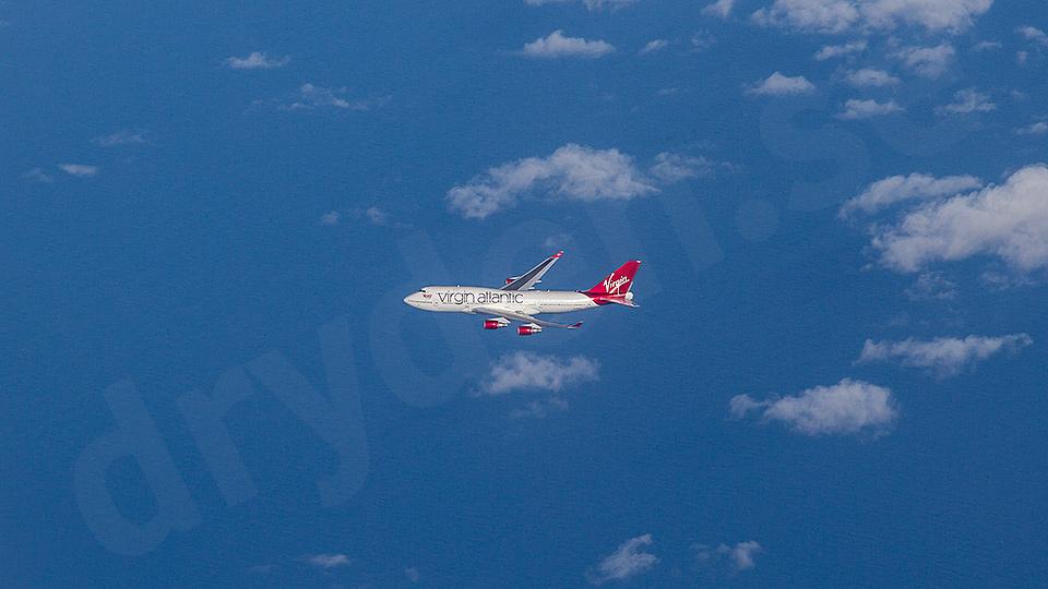 Flight VIR75L, MAN-MCO. Boeing 744, G-VROM