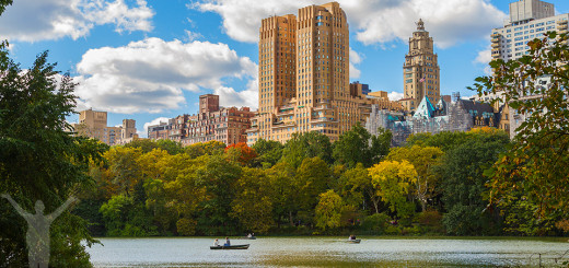 The Central Park Lake