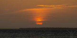Solnedgång på Zanzibar