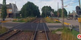 Vart är vi på väg? Tåg genom Brålanda