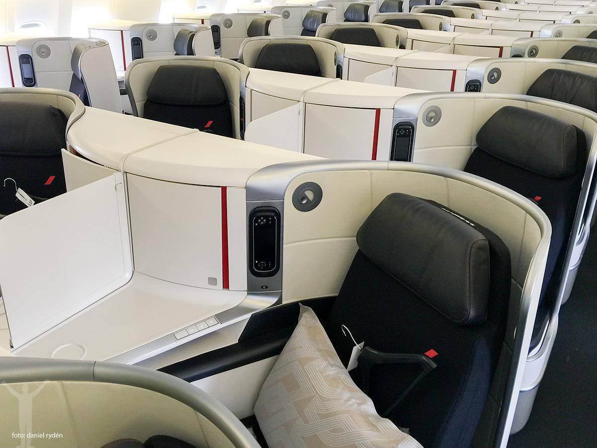 Nya Business hos Air France