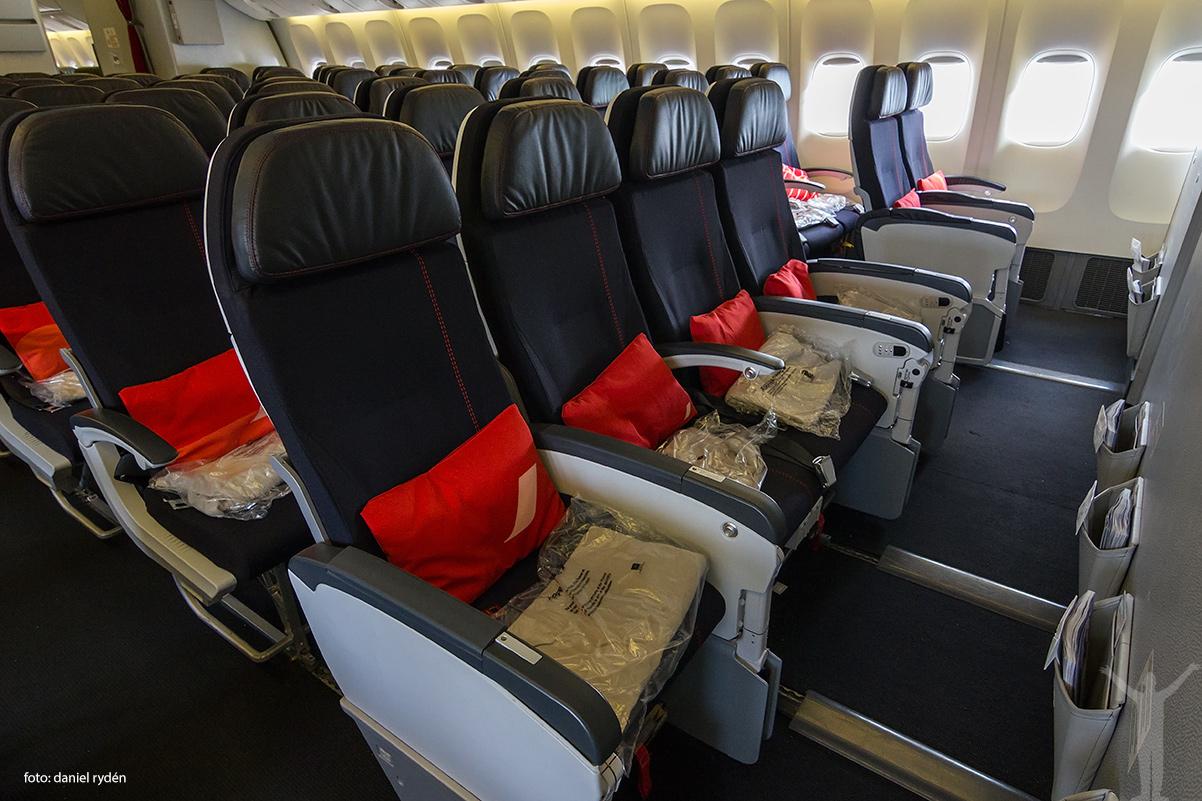 Nya ekonomiklassen hos Air France BEST