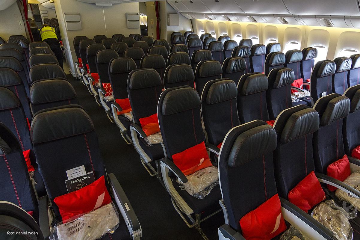 Nya ekonomiklassen hos Air France