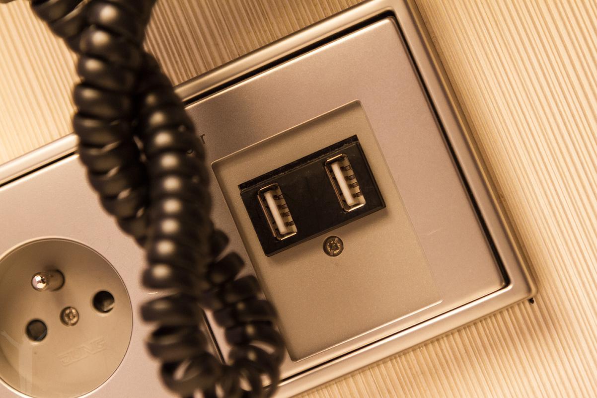 USB-kontakter