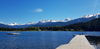 Rainbow Park, Alta Lake i Whistler