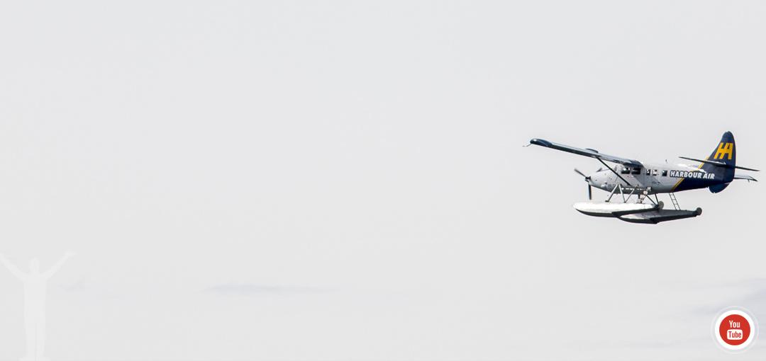 Youtube - sjöflygplan över Vancouver