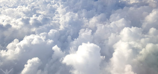 Fluffiga moln