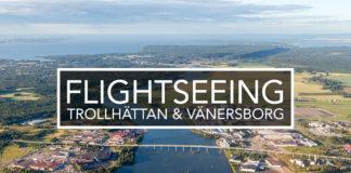 Vlogg - Flightseeing
