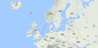 Easy Jet London Östersund