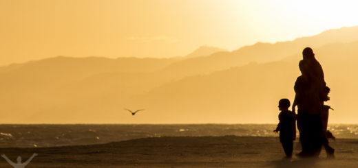 Santa Monica Beach, en för mig klassisk solnedgång