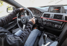 BMW 320d interiört