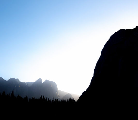Skymning i Yosemite