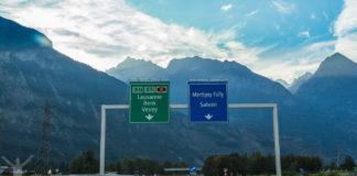 Roadtrip i Schweiz