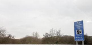M4 mot Wales