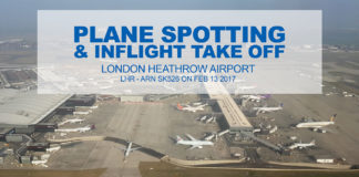 Flygplansspaning på Heathrow