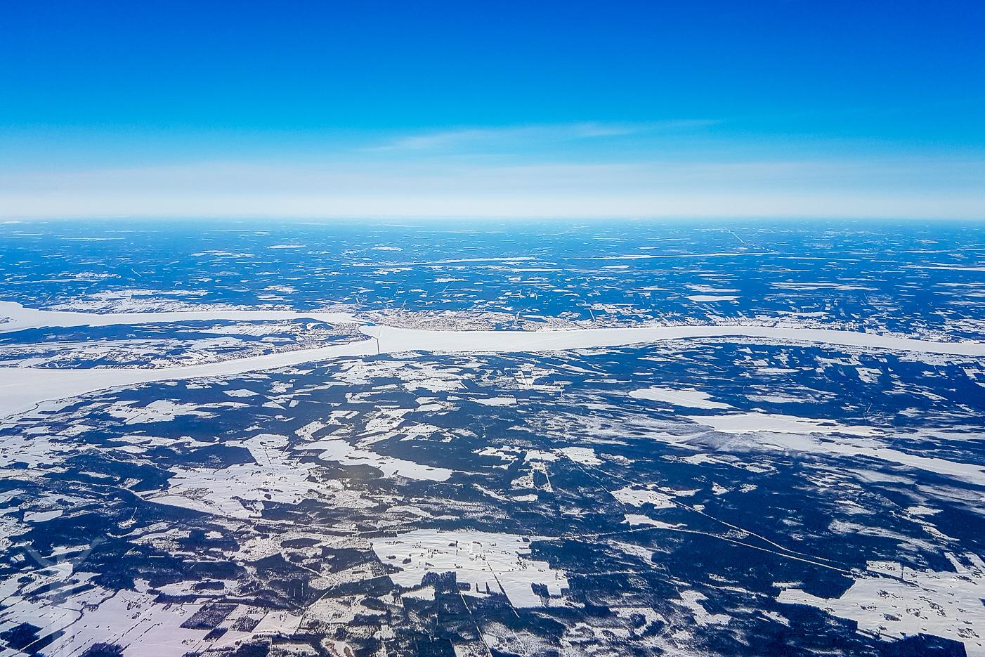 Jämtland och Östersund efter take off