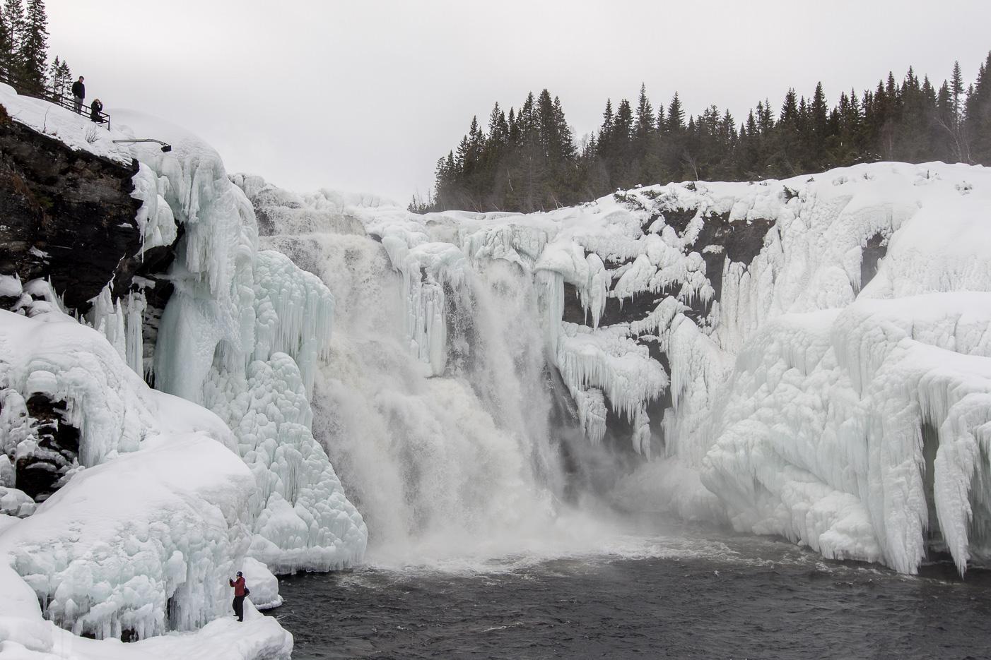 Tännforsen - Sveriges största vattenfall