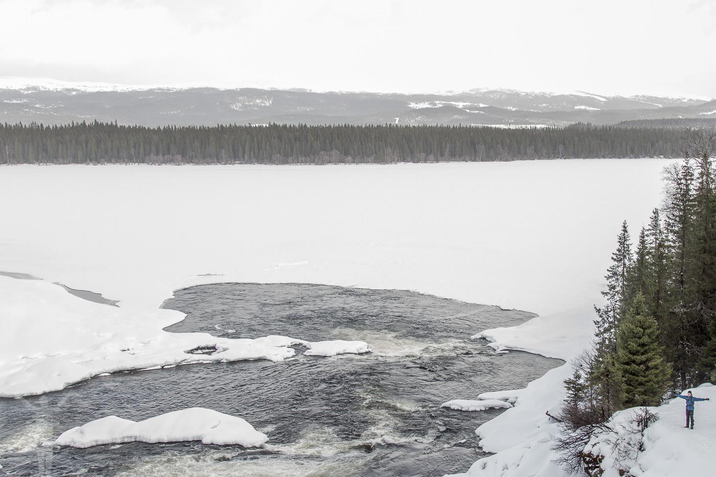 Tännforsen och Östra Noren