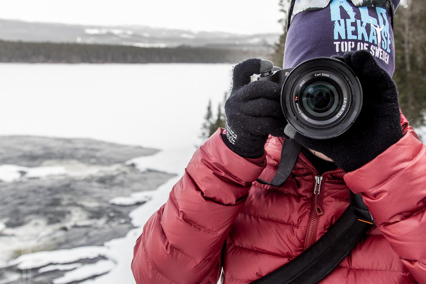 Fotografera Tännforsen