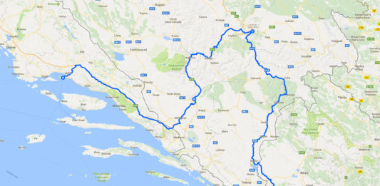 Roadtrip på Balkan