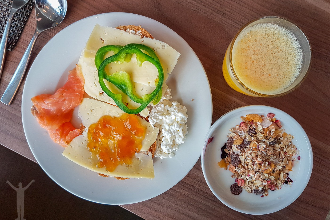 Frukost på Clarion Arlanda