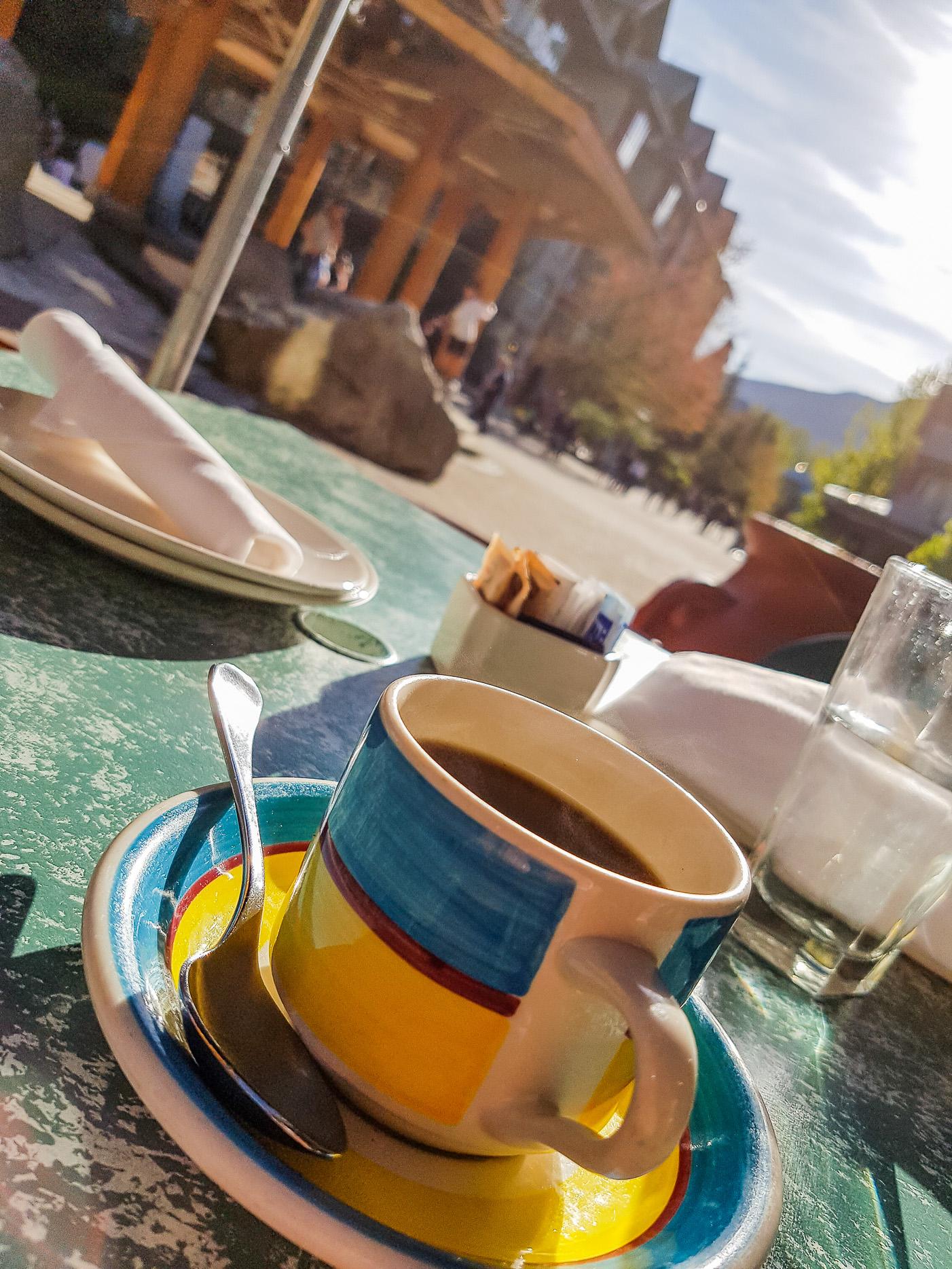 Kaffe i Whistler