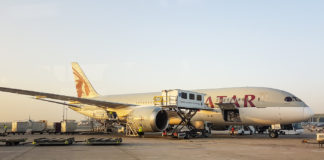 Qatar Dreamliner 787