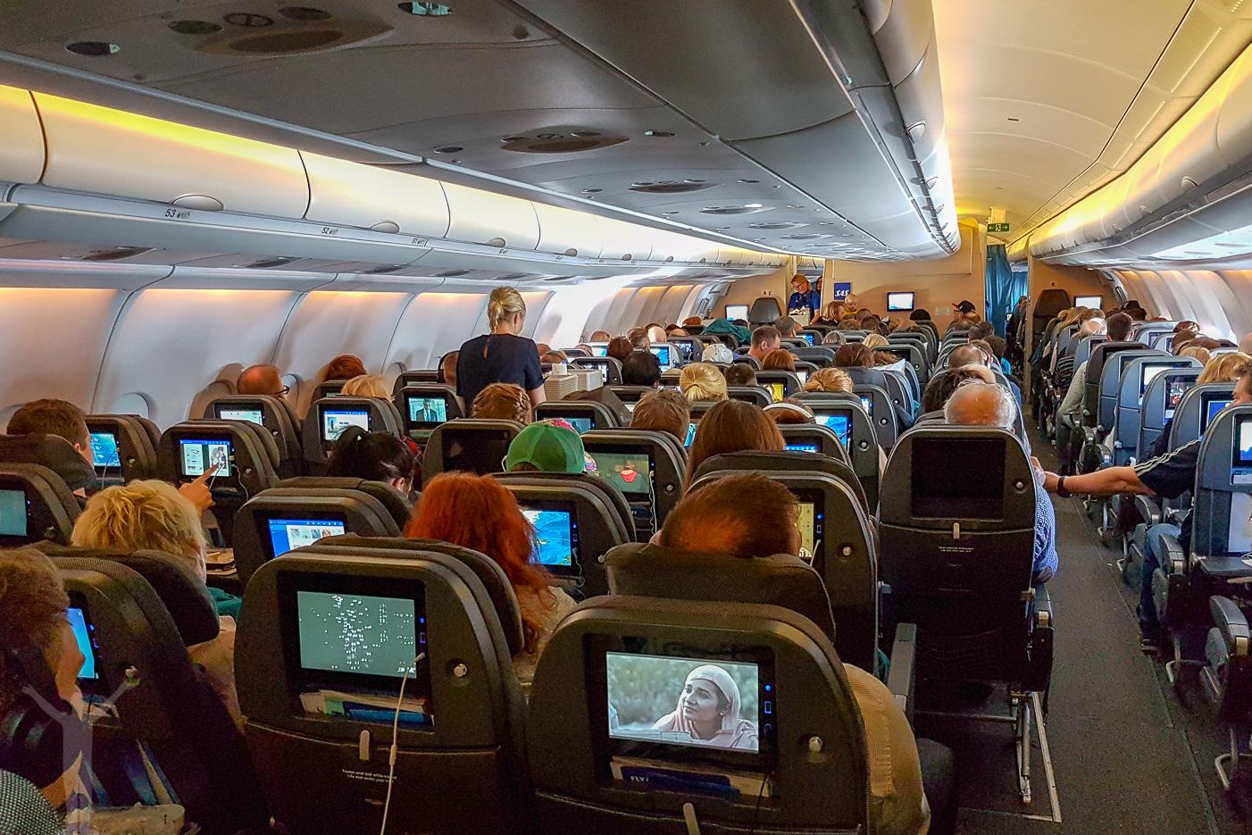 SAS nya kabin på A330E