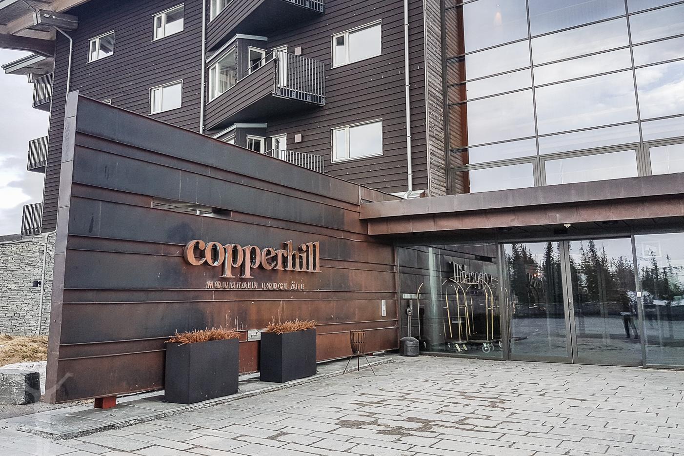 Entrén till Copperhill