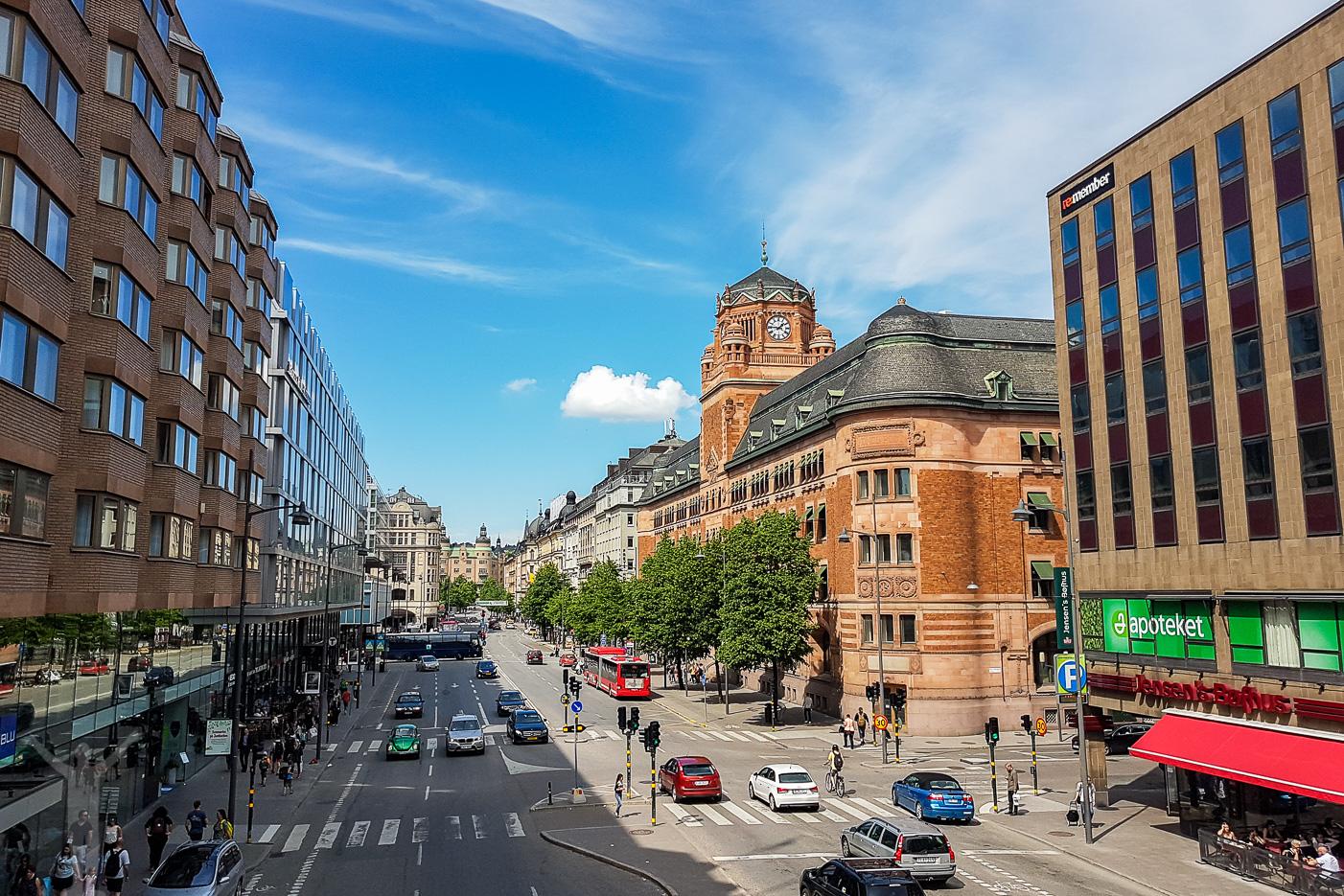 Stockholm - Vasagatan