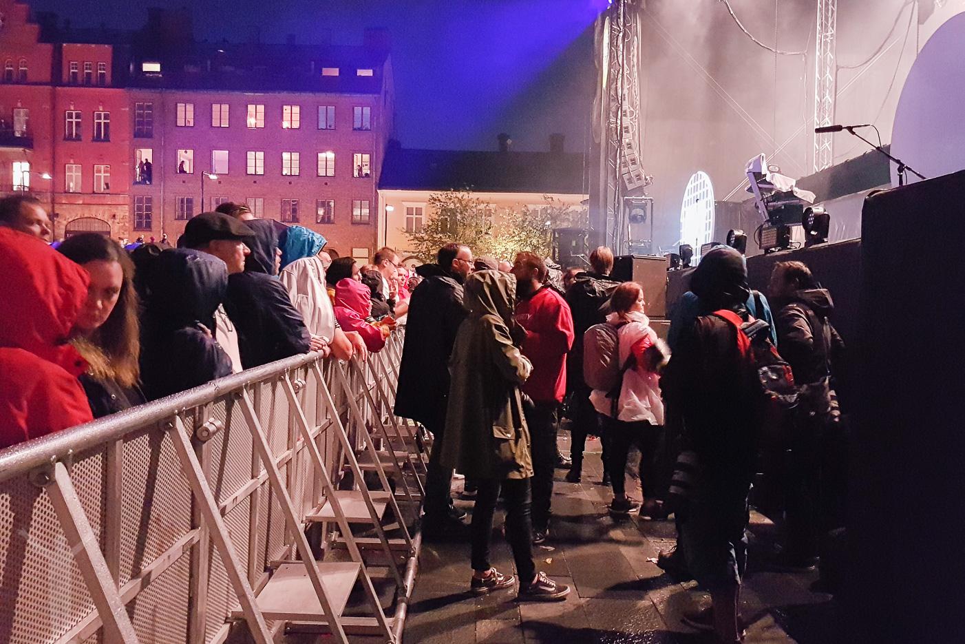 Fotodiket vid Stors Scenen