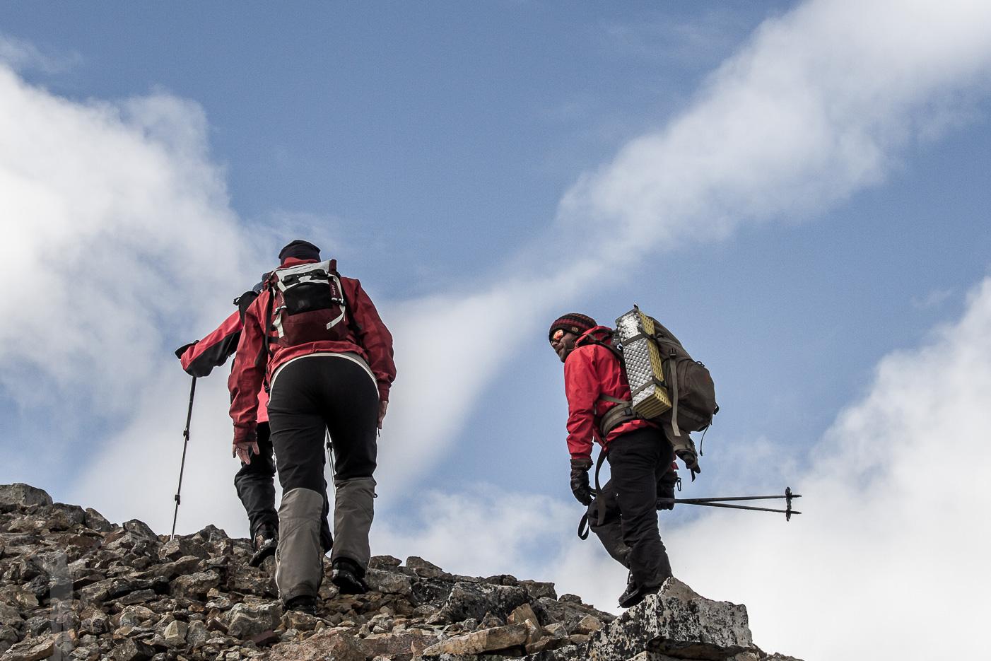Bergsbestigning på Svalbard
