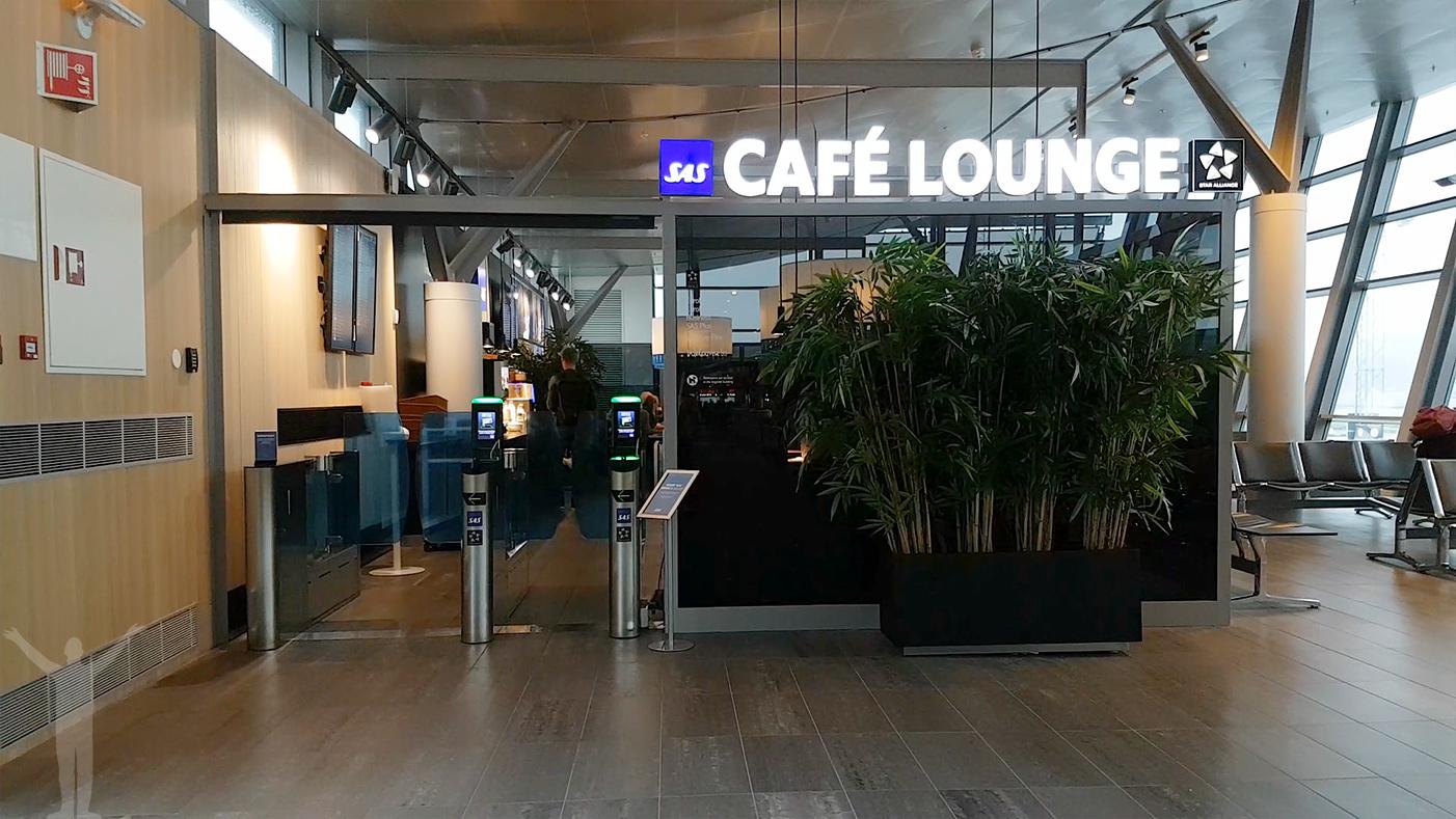 SAS Café Lounge i Trondheim