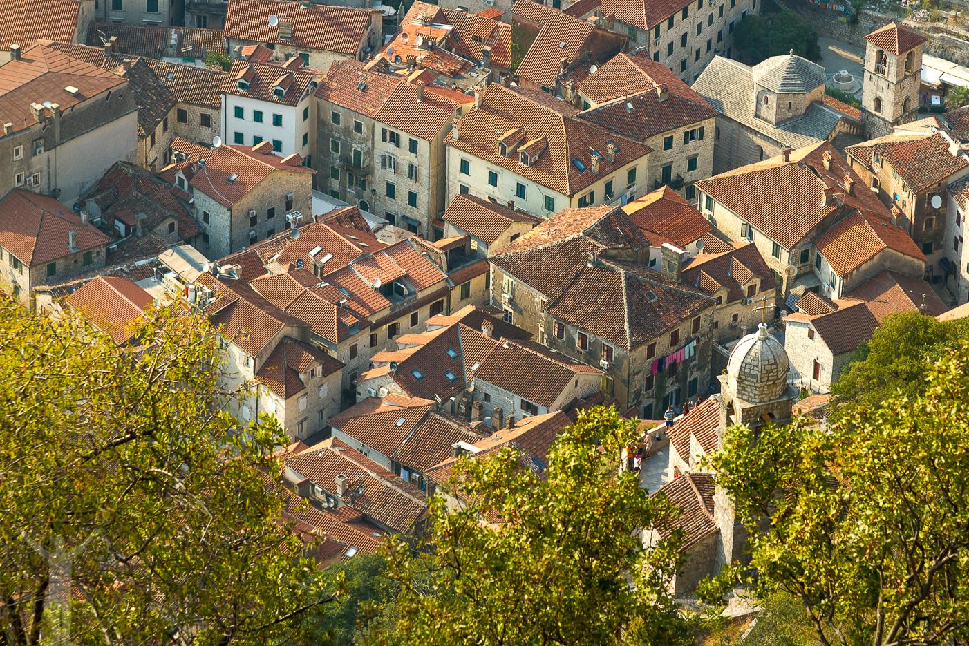 Gamla stan i Kotor