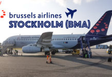 Att flyga från Bryssel - BRU-BMA SN2305