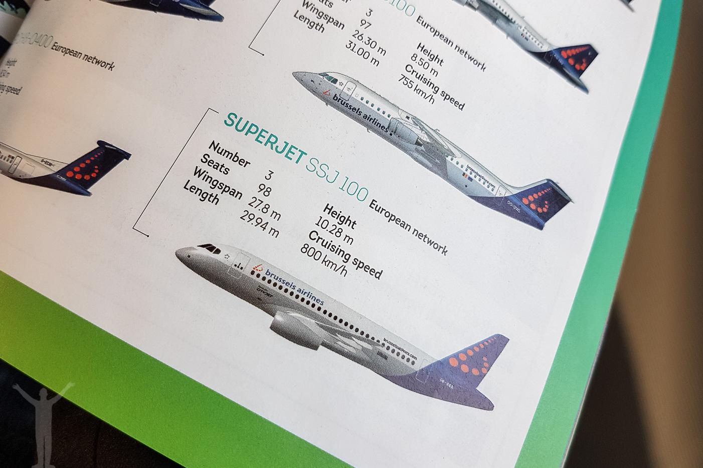 Brussels Airlines Sukhoi Superjet 100-95B (EI-FWD)
