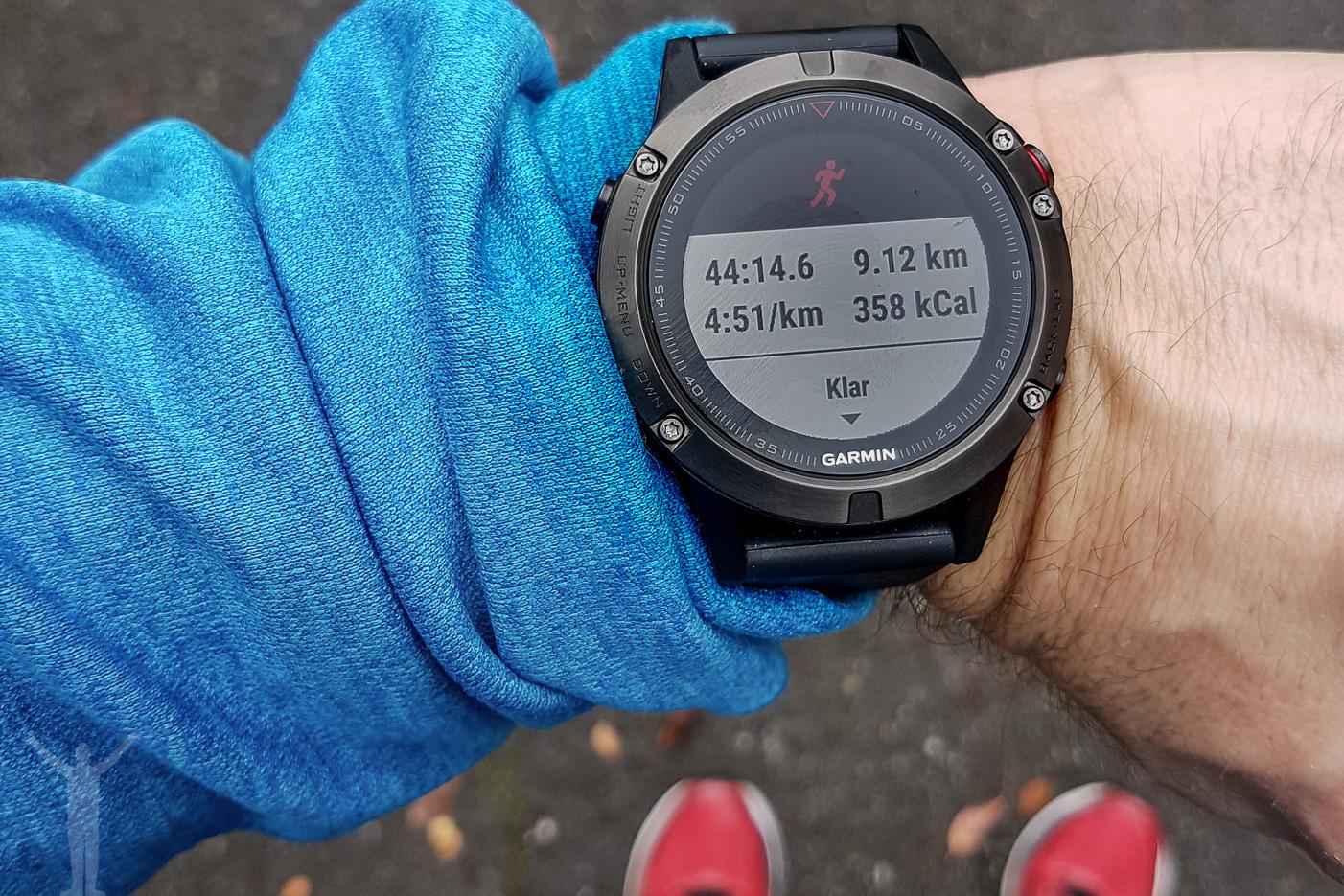 Garmin Fenix 5 - löpning
