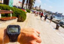 Löpning i Split