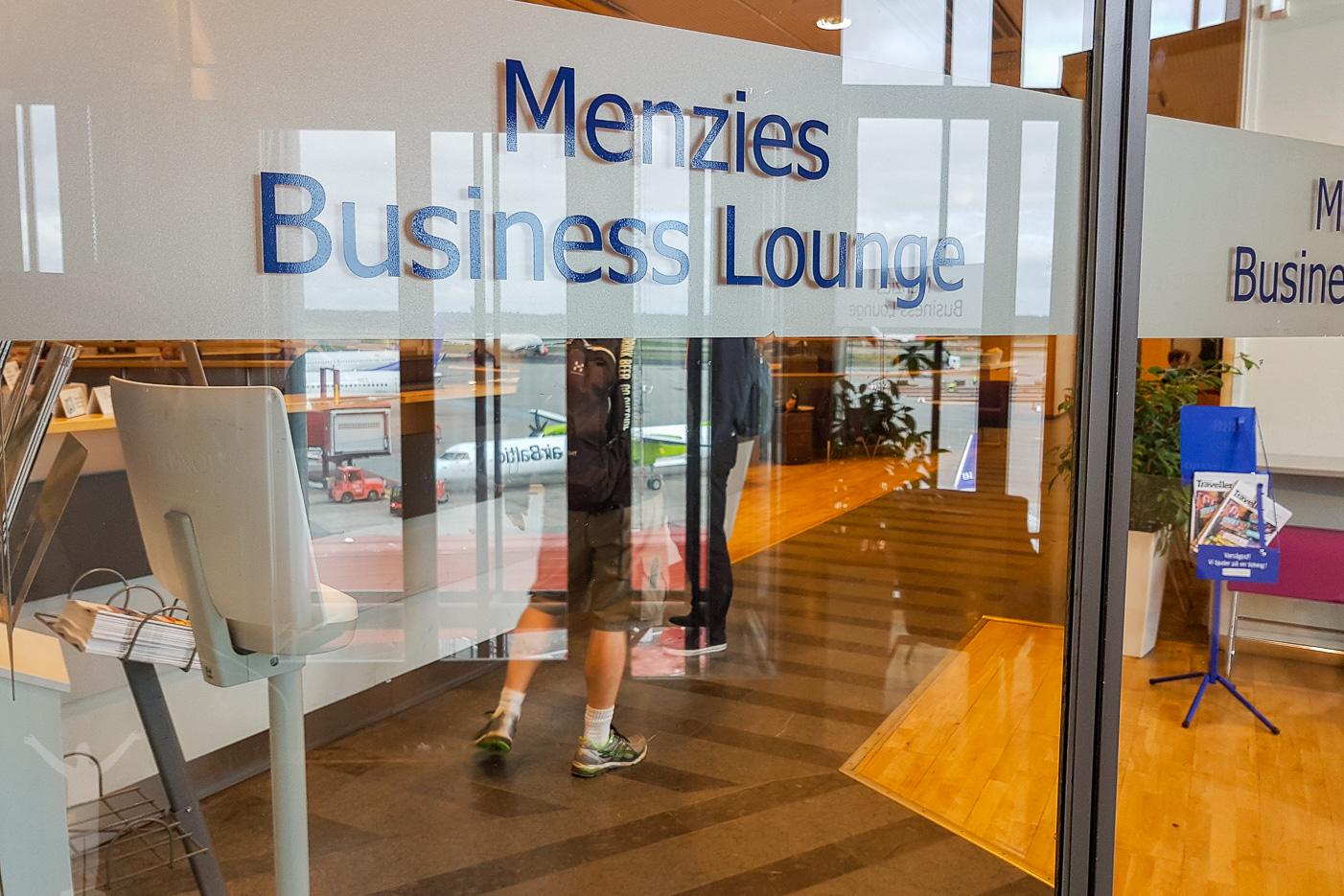 Menzies Business Lounge på Arlanda