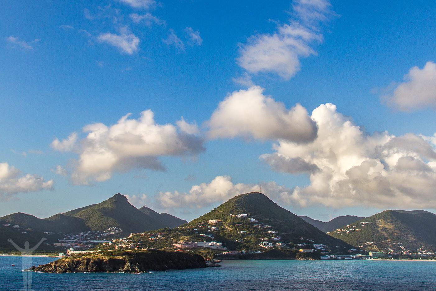 St Maarten i Karibien