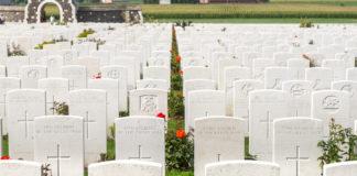 Tyne Cot - begravningsplats
