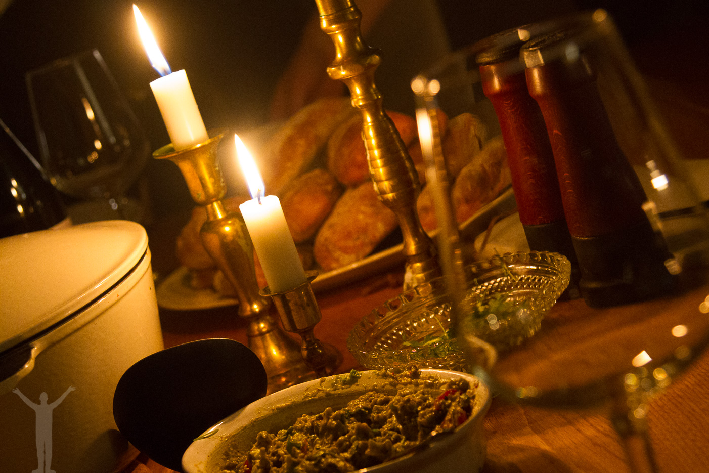 Middag efter dagstur