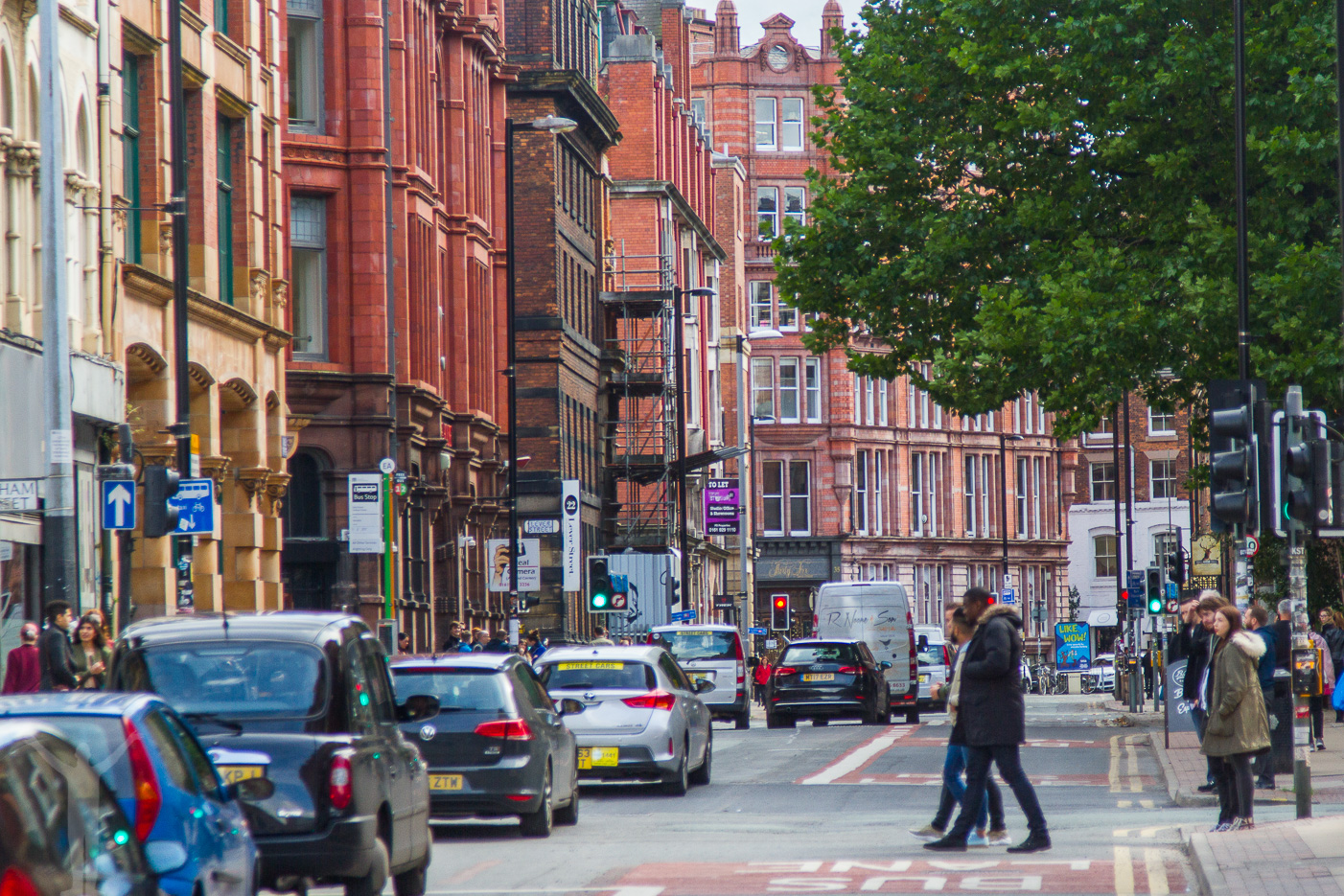 Northern Quarter i Manchester