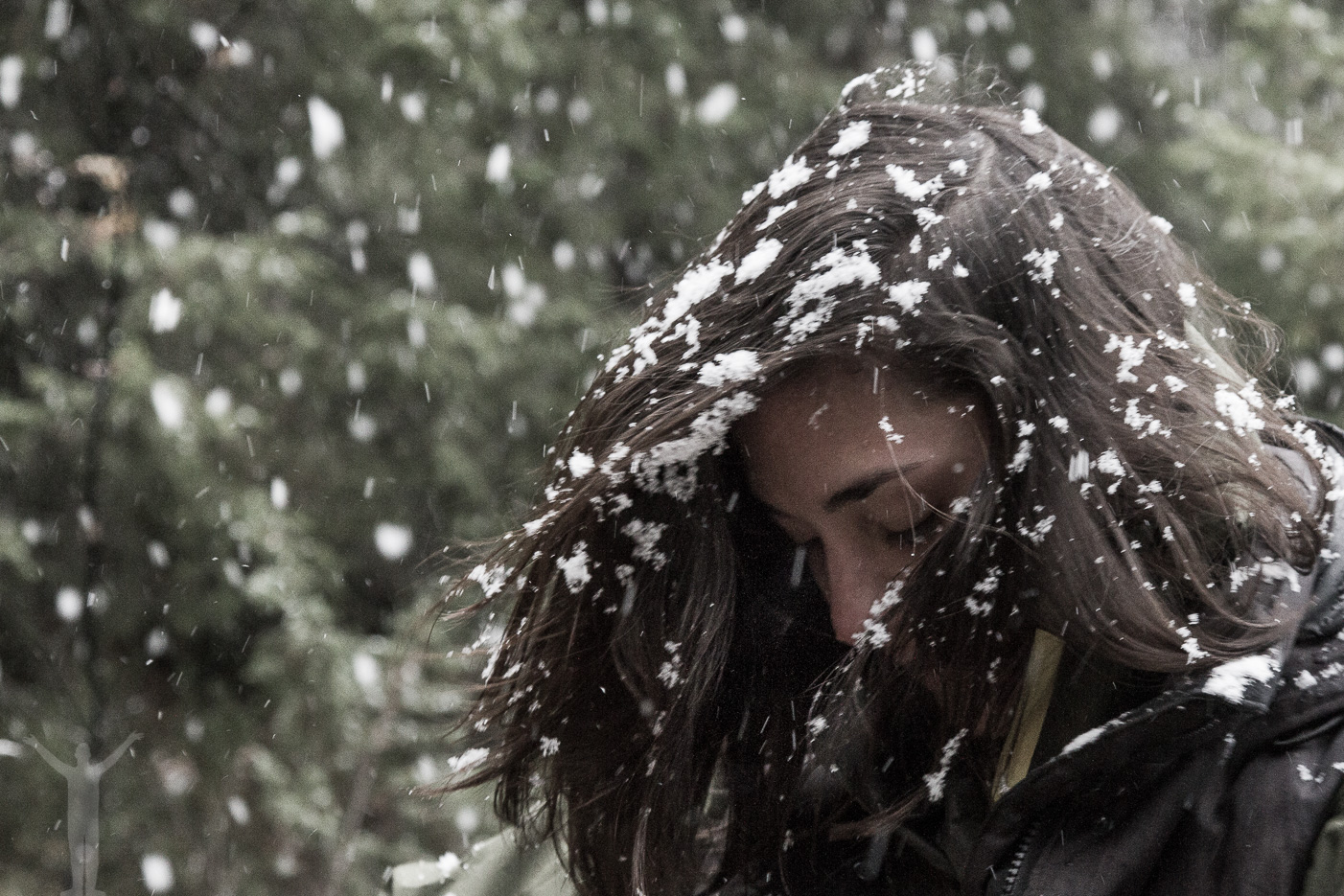 Snöflingor som i Disneyfilmer