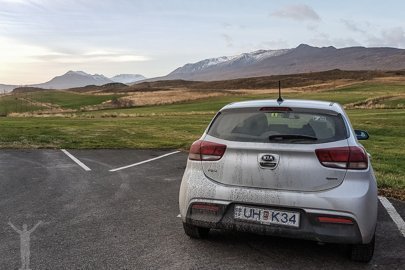 Hyrbil på Island